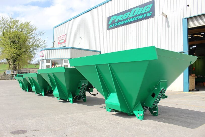 ProDig agri attachment