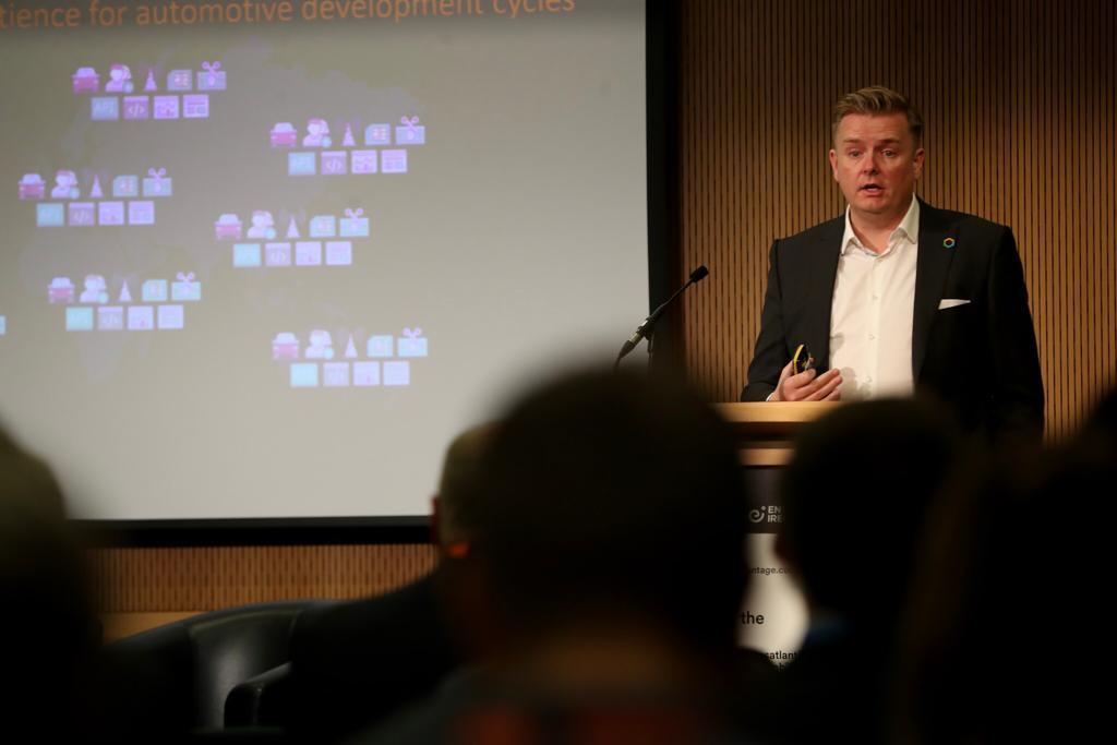 Barry Napier, CEO Cubic Telecom