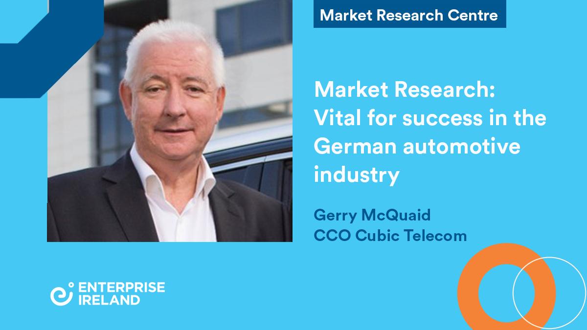 Cubic Telecom - MRC case study - Gerry McQuaid CCO