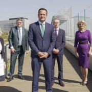 Leo Varadkar and others on trade mission