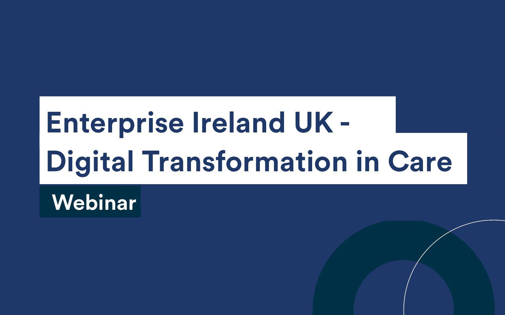 Digital Transformation in Care - Webinar
